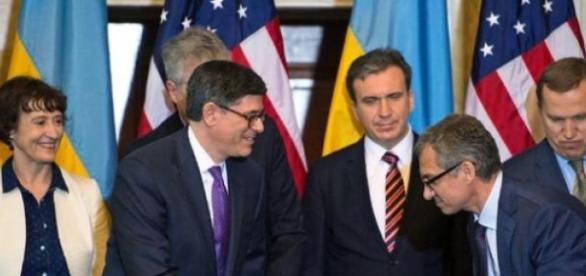 Les Etats-Unis viennent en aide à l'Ukraine