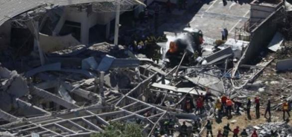 Tragedia en hospital por explosión de pipa de gas