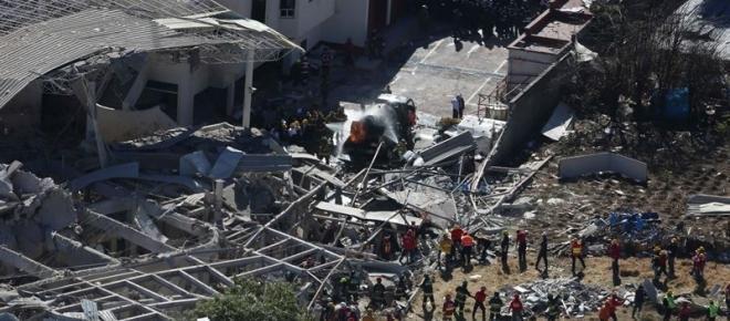 Explosión en Hospital Materno Infantil Cuajimalpa