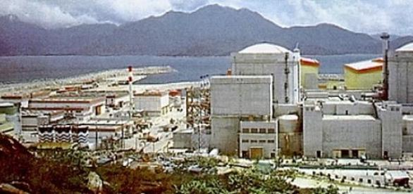 Central nuclear de Guangdong, China