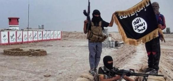 Imagen de los islamistas de Isis