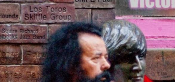 "António Ramos, conhecido por ""Barbas""."