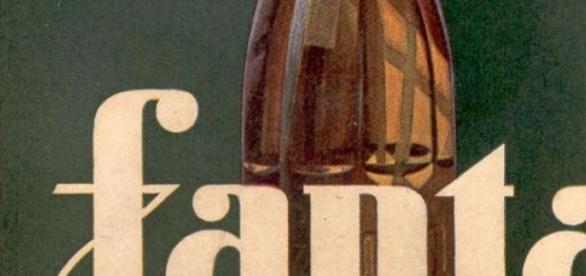 Cartel de Fanta original de los años cuarenta