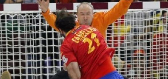 España no pudo con los galos