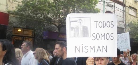 Imagen de la pasada marcha por el fiscal Nisman