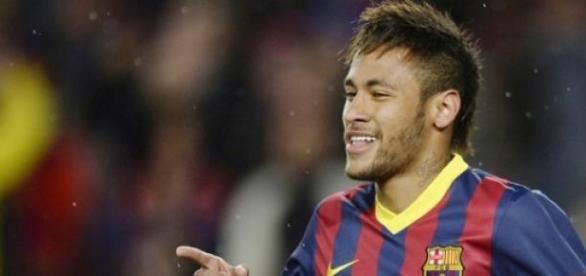Neymar faz dois gols e Barça está na semi-final.