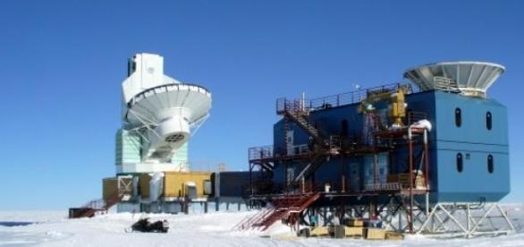 Telescopio BICEP2 en el Polo Sur