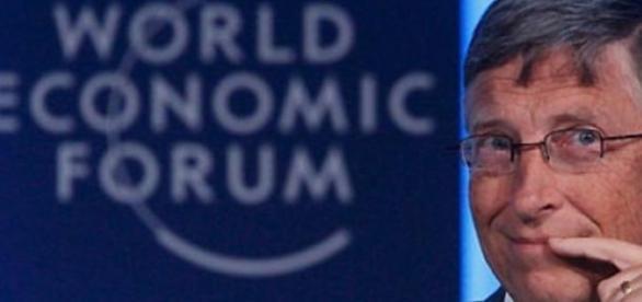 Bill Gates en Davos, Suiza