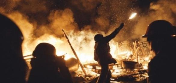 Os conflitos na Ucrânia persistem.