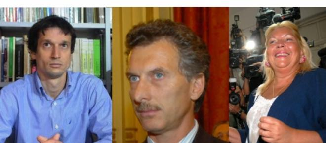 Imagen de Lagomarsino, Macri y Carrió