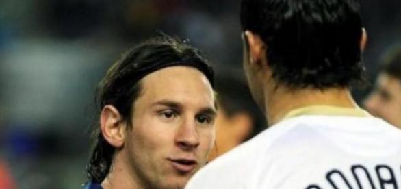 A eterna rivalidade com Messi não foi esquecida
