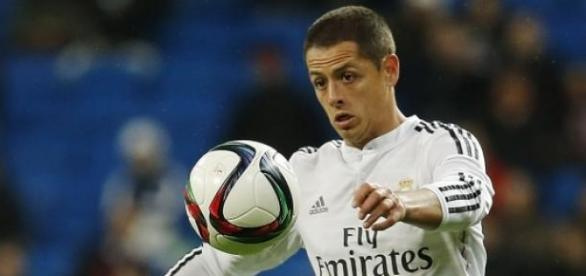 Chicharito jugó pero  el Real Madrid perdió