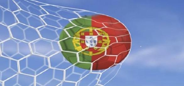Golo da seleção portuguesa.