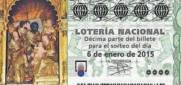 Billete de Lotería del Niño 2015