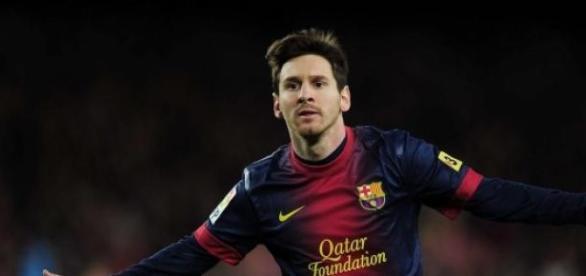 Messi es la actual estrella del F.C. Barcelona