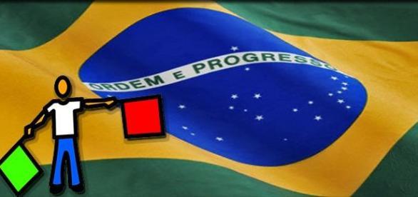 O Brasil e suas bandeiras