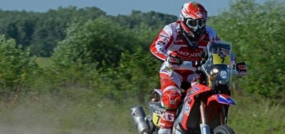 Paulo Gonçalves consolida segundo lugar na geral