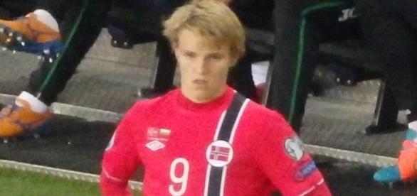Martin Ødegaard tem apenas 16 anos