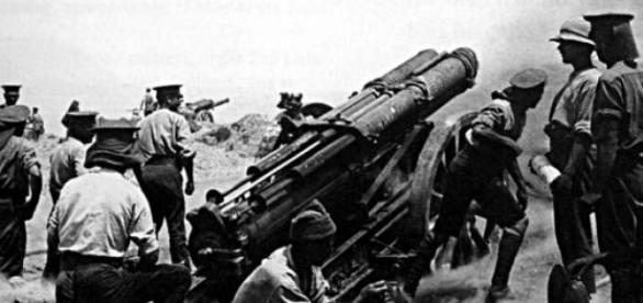 Foto da Primeira Guerra Mundial