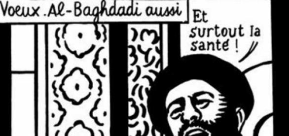 Last satirical cartoon mocking Bakar Al Baghdadi