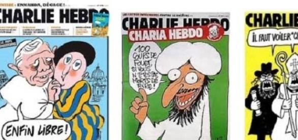"""""""Vingamos o profeta Maomé, matamos Charlie Hebdo""""."""