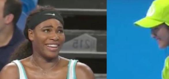Serena Williams pediu um café para acordar