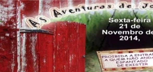 """O cartaz de """"Aventuras de João sem medo"""""""