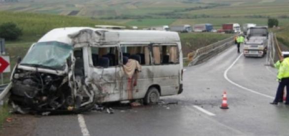 Accident grav în această dimineață pe DN7