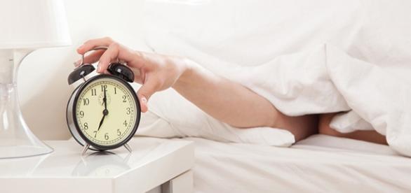 Como é difícil acordar cedo para algumas pessoas.