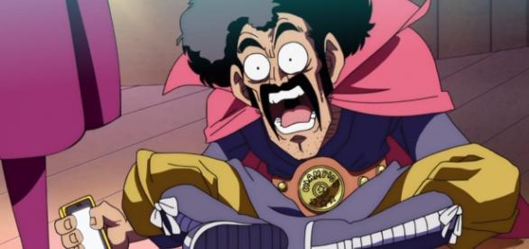 Mr Satan en el capitulo 12 de Dragon Ball SUper