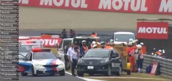 Accident teribil pe circuitul din Japonia