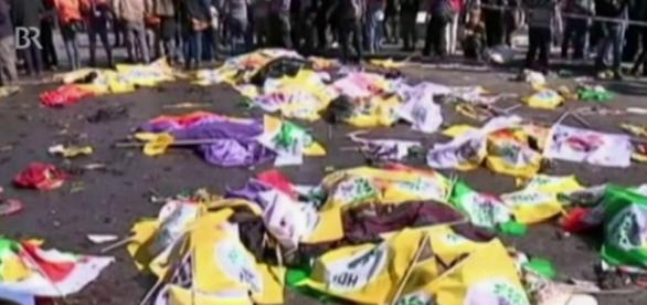 Anschlag in Ankara! Foto: BR Rundschau