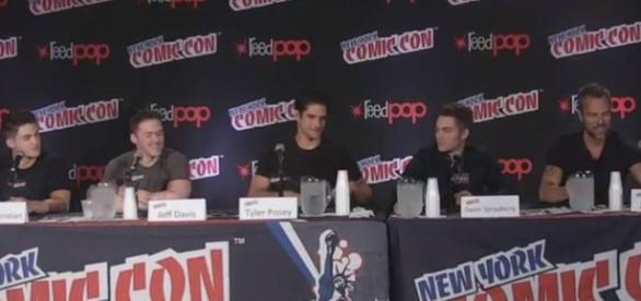 Il cast di Teen Wolf al New York Comic-Con