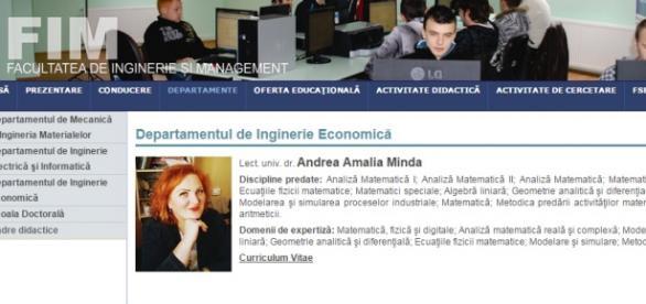 Profesoara Andrea Minda a luat căte 40 euro şpagă