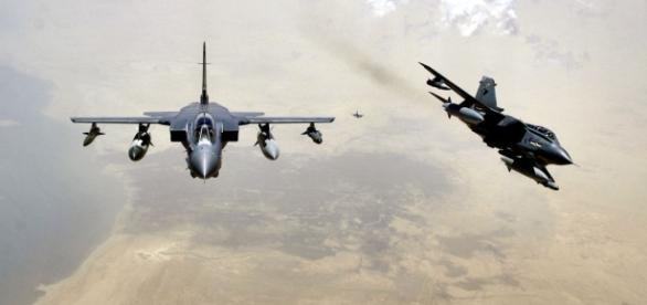 Avioane Tornado din dotarea Royal Air Force