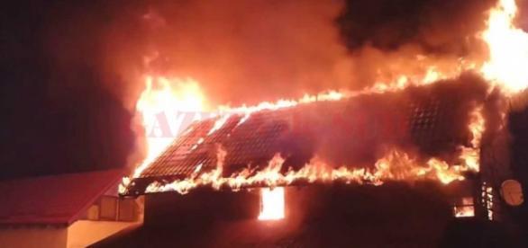 Incendiu sau crimă în județul Dolj?