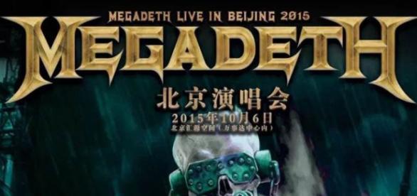 Megadeth se adaptó a las reglas del gobierno chino