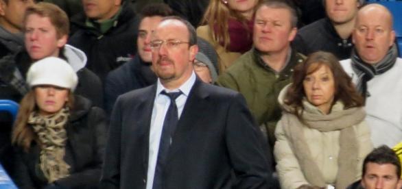 Rafa Benítez en su etapa en el Chelsea
