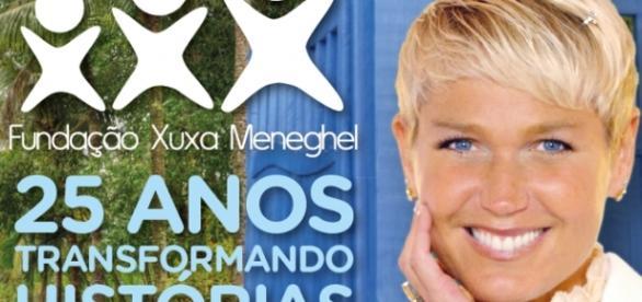 Capa do livro lançado por Xuxa (Foto/Reprodução)