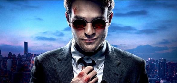 Charlie Cox nel ruolo di Matt Murdock