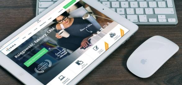 Ejemplo de web emprendora como modelo de negocio