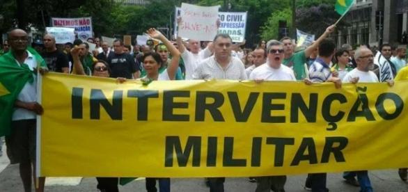 Intervenção Militar é ato inconstitucional.