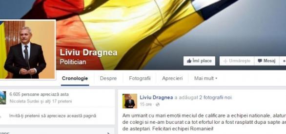 Liviu Dragnea a lipsit două luni de pe facebook