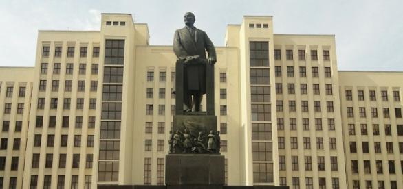 Pomnik W. Lenina, fot. A.Forster