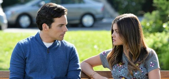 Pretty Little Liars: Ezra Fitz e Aria