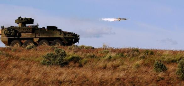 Rachetele BGM-71 TOW cu care sunt dotaţi rebelii