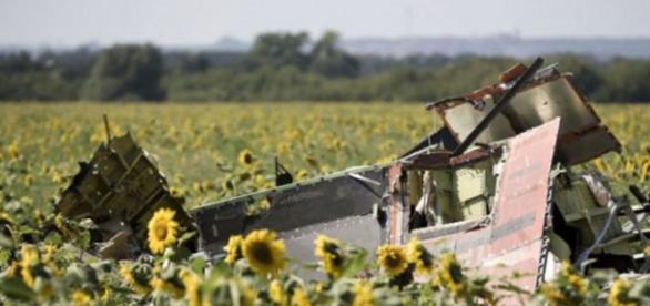 Szczątki samolotu MH17 - spitsnieuws.nl