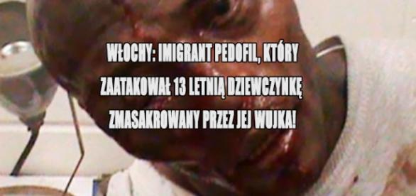 Imigrant pobity za próbę uprowadzenia dziewczynki