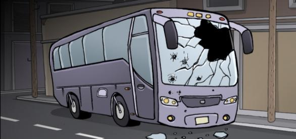 ¿A dónde nos llevan?, comic de Augusto Mora