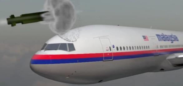 Animaţia rachetei care a doborât avionul MH17